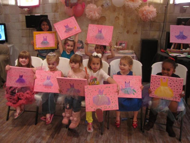 bubbles n brushes party packages